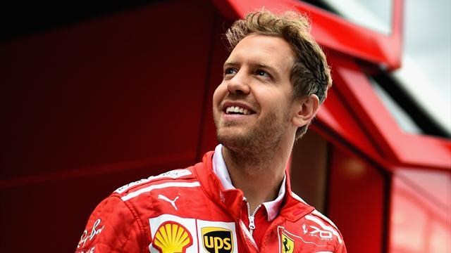 Ferrari offre 40 millions d'euros par an à Vettel, 5 à Räikkönen
