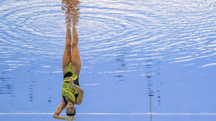 Resultado de imagen de Ona Carbonell logra la medalla de plata en solo técnico
