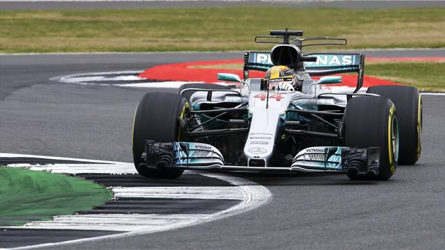 Gran Premio de Gran Bretaña: Pole para Hamilton y machada de Alonso en la Q1