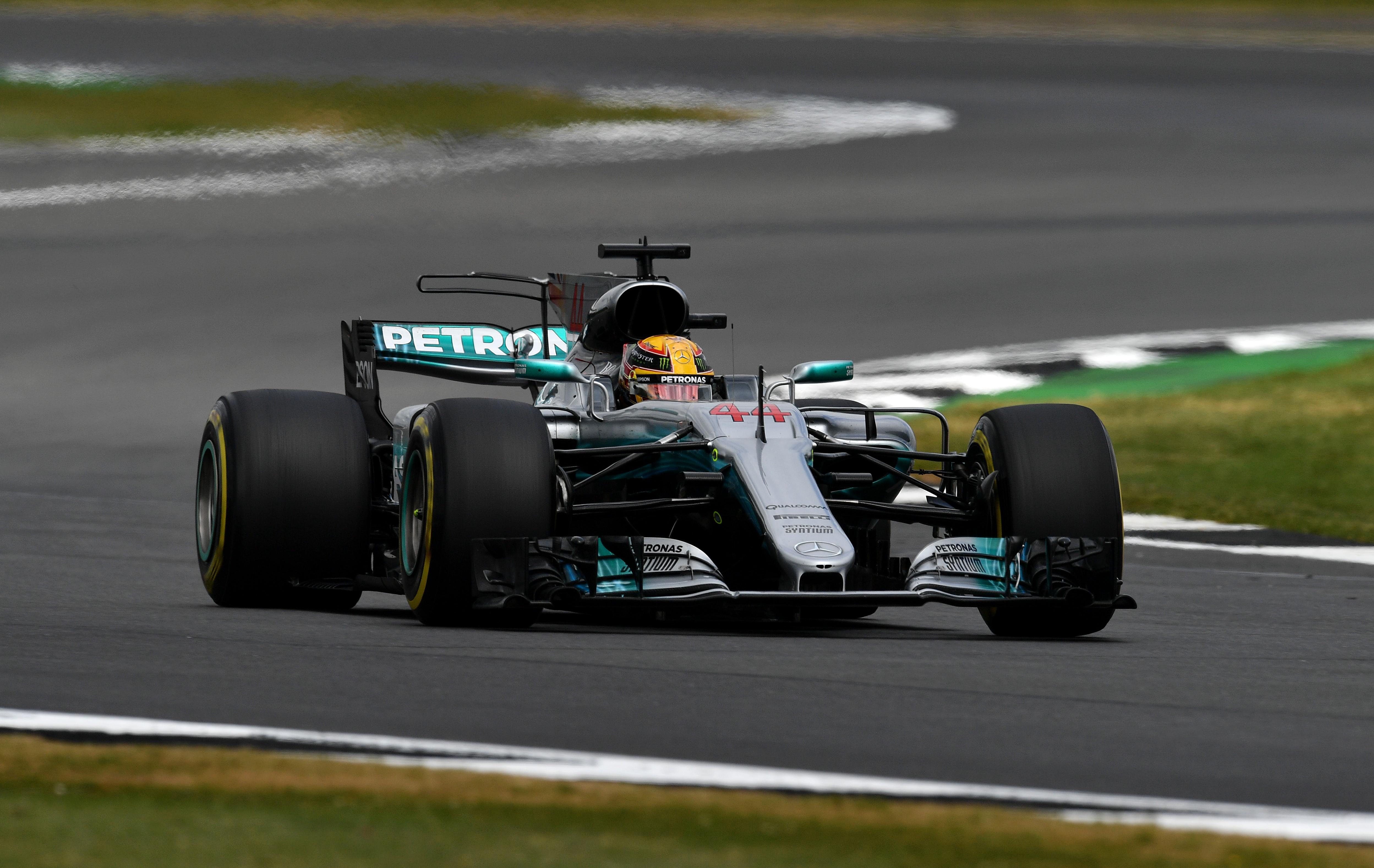 Lewis Hamilton (Mercedes) au Grand Prix de Grande-Bretagne 2017