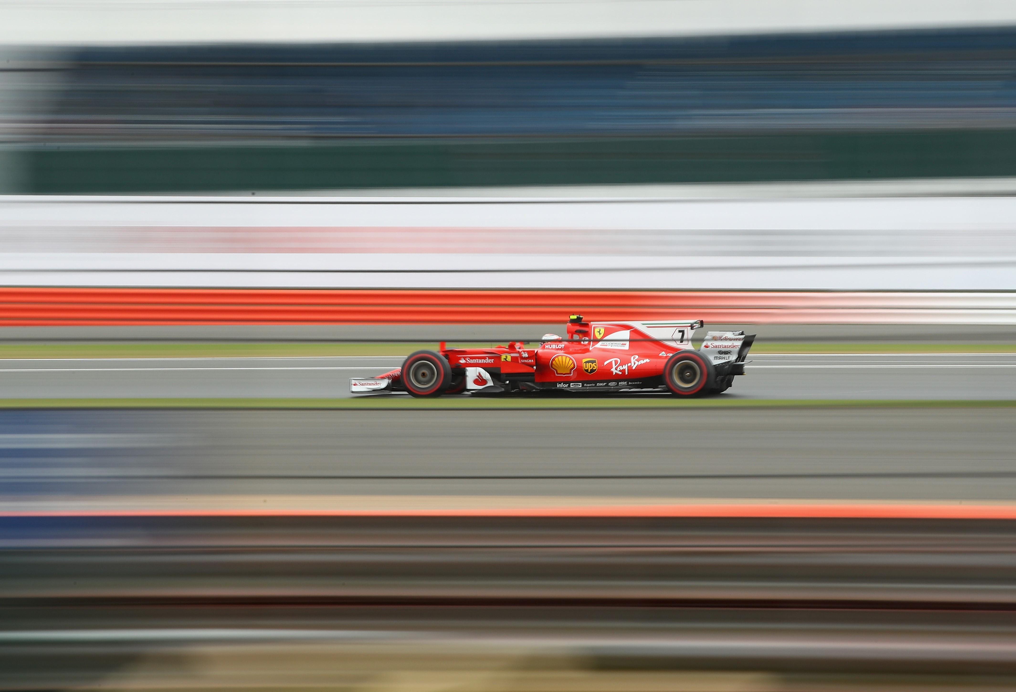 Kimi Räikkönen (Ferrari) au Grand Prix de Grande-Bretagne 2017