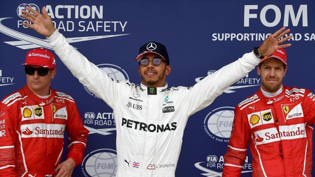 Silverstone'da pole pozisyonu Hamilton'ın