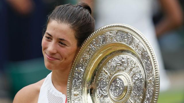 Muguruza wins Wimbledon title after overpowering Williams