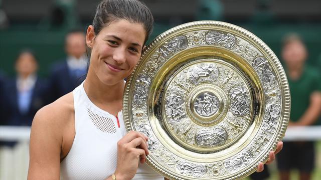 Venus crolla, Muguruza regina a Wimbledon