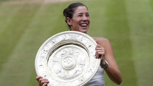 Muguruza asciende diez posiciones en la clasificación de la WTA tras su victoria en Wimbledon