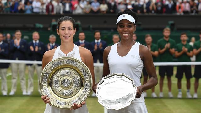 """Garbiñe Muguruza-Venus Williams, il meglio della finale in 166"""""""