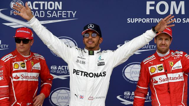 Controversy as Hamilton keeps pole after blocking row