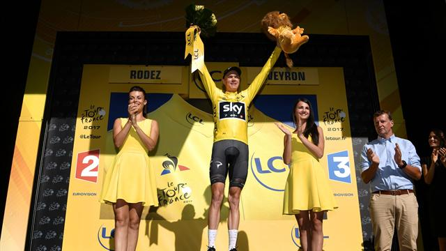 Matthews claims Stage 14, Froome catches Aru to reclaim yellow jersey