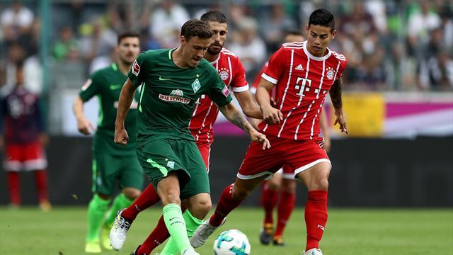 James erstmals für FCB am Ball: FC Bayern holt Telekom Cup