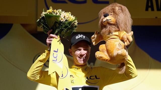 Matthews à la pédale, Froome reprend le maillot jaune : les moments clés de la 14e étape