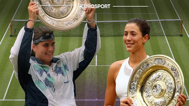 Wimbledon: Conchita, Garbiñe y otras históricas del tenis español
