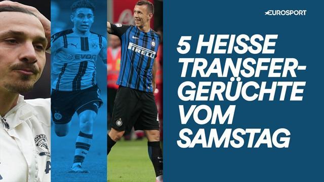 Mor, Zlatan, Perisic: 5 Transfergerüchte, die ihr nicht verpassen dürft