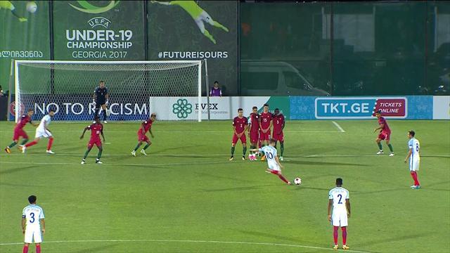 Suliman heads England into lead in U19 final