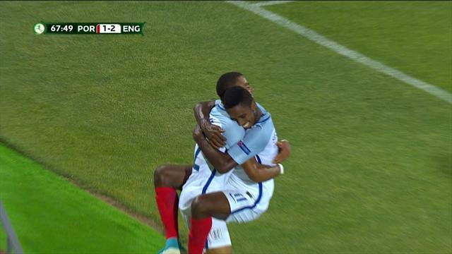 Europeo Sub'19, Portugal-Inglaterra (Final): Nmecha sentencia para llevarse el torneo