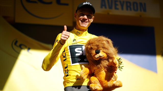 I momenti chiave della 14^ tappa del Tour de France: Aru perde la maglia gialla, Froome torna leader