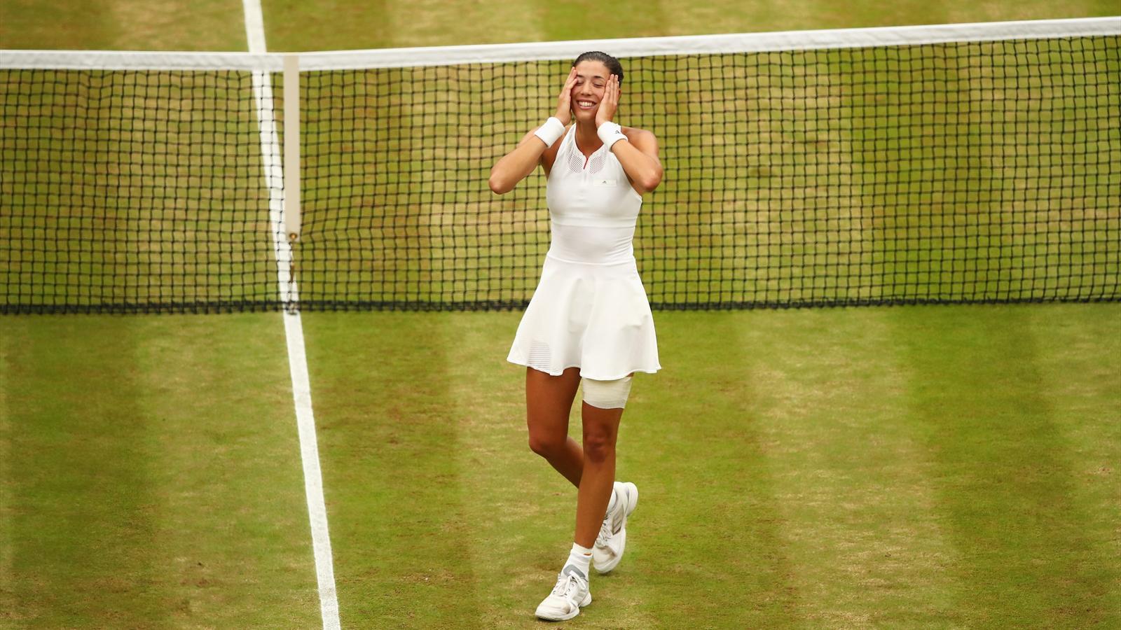 Wimbledon : finale dames - Garbiñe Muguruza :