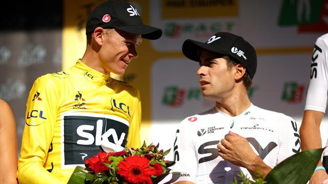 Tour de Francia 2017: Froome otra vez de amarillo, bueno para el Sky y malo para Mikel Landa