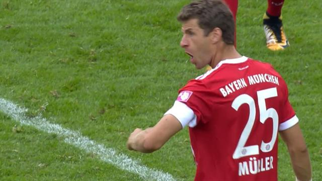 Tor und Vorlage: Müller ebnet Bayerns Finalsieg beim Telekom Cup