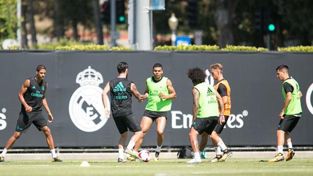 Ramos se incorporó a los trabajos del Madrid