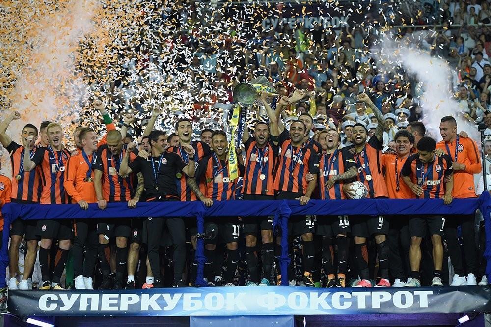 «Шахтер» обыграл киевское «Динамо» и завоевал Суперкубок Украины