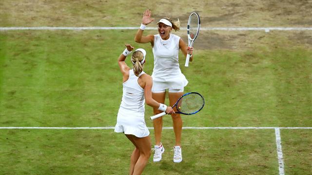 Makarova et Vesnina remportent facilement le double dames