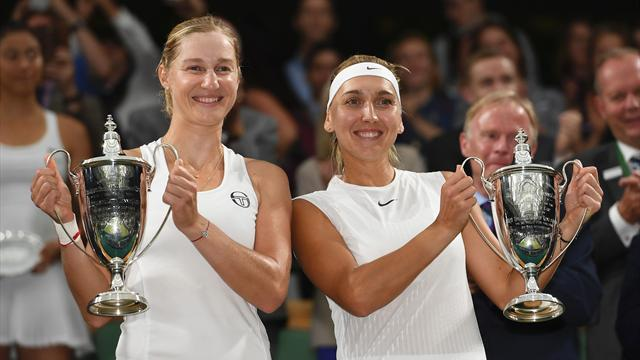 Makarova and Vesnina cruise to women's doubles title