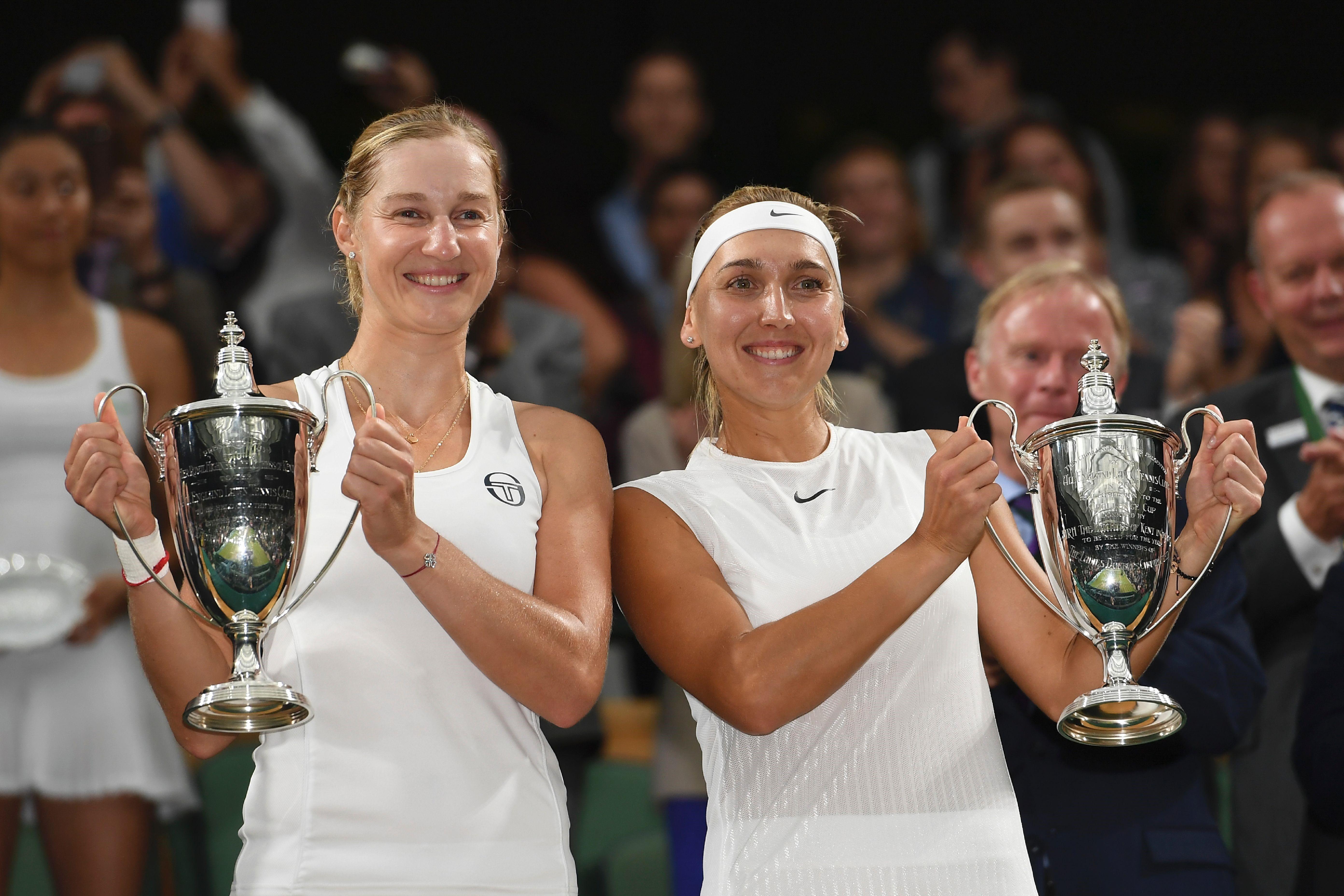 Екатерина Макарова и Елена Веснина – чемпионки Уимблдона-2017