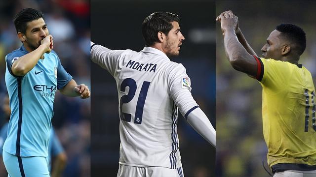 Nolito, Morata y Yerri Mina, los nombres del día