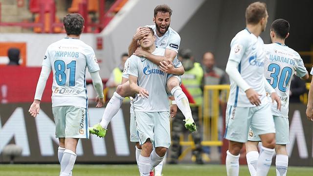 «Зенит» победил «СКА-Хабаровск» в первом матче Манчини