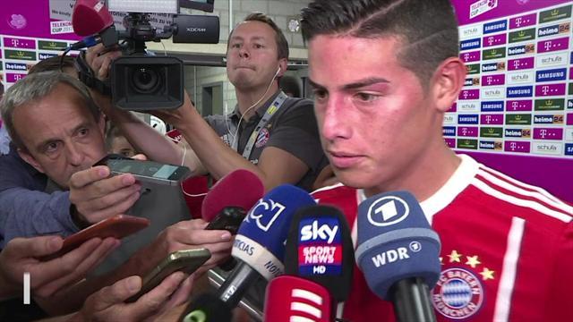 """James nach Sieg beim Telekom Cup: """"Hoffe, dass ich mich weiter verbessere"""""""