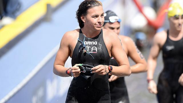 Arianna Bridi bronzo al fotofinish nella 10 km del Lago Balaton
