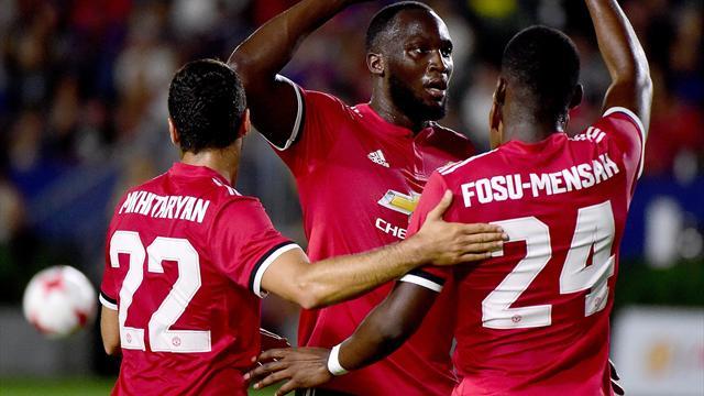 Mourinho praises 'unselfish' Lukaku after debut in LA