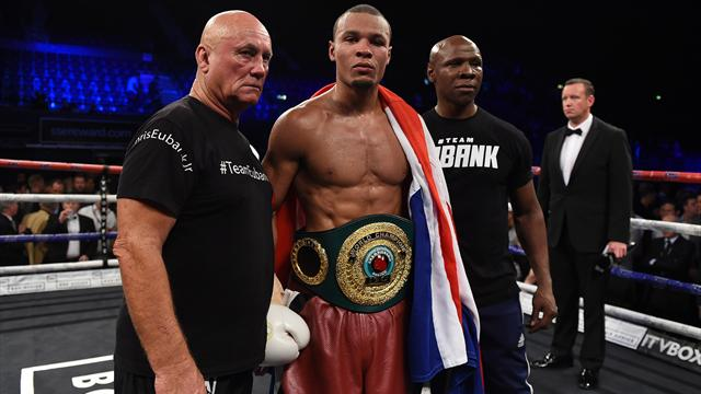 Eubank Jnr seeks all-British showdown with Groves after win over Abraham