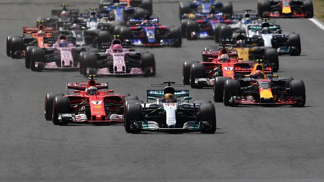 Formel 1: Hamilton gewinnt den Start - Verstappen verdrängt Vettel