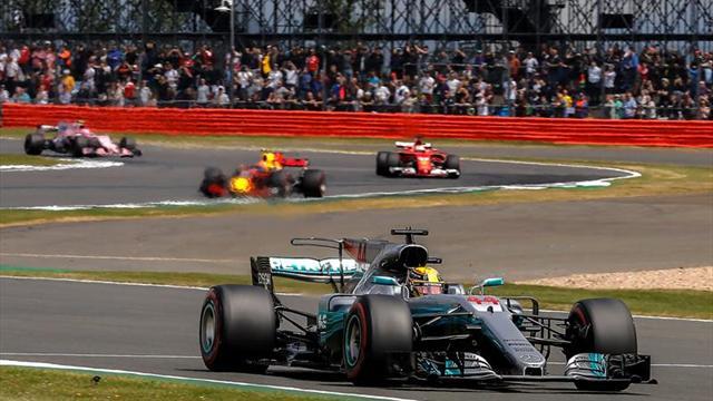 Salida abortada en el GP de Gran Bretaña