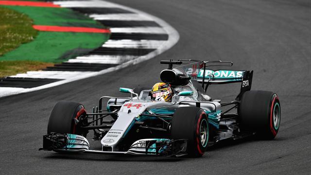Хэмилтон в пятый раз выиграл Гран-при Великобритании