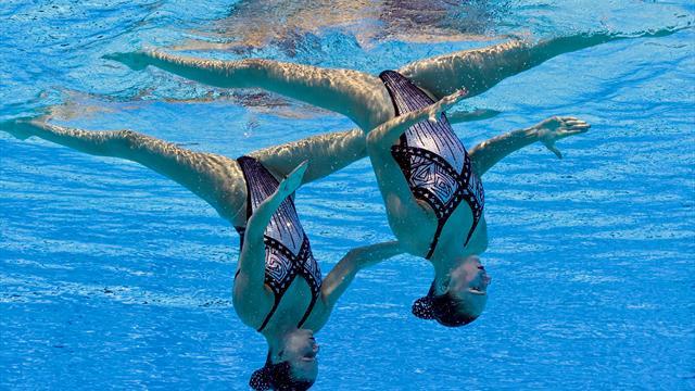 WM in Budapest: Zweites Synchronschwimmer-Gold für Russland