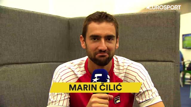 "Meilleur tennisman, meilleur tournoi... L'interview ""The Best"" de Čilić"