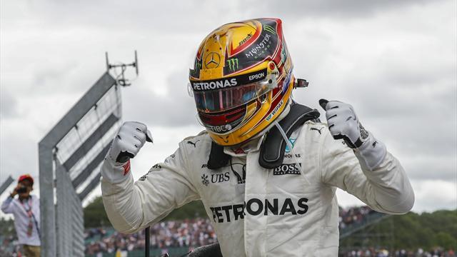 GP Gran Bretaña: Triunfo incontestable de Hamilton y descalabro español y de Ferrari