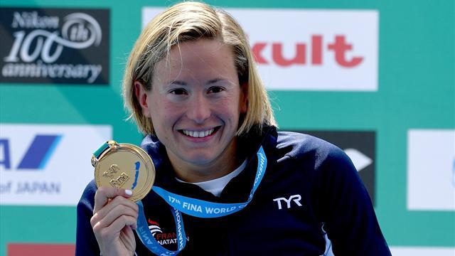 Rio ne l'a pas coulée : Muller de nouveau championne du monde sur le 10km en eau libre