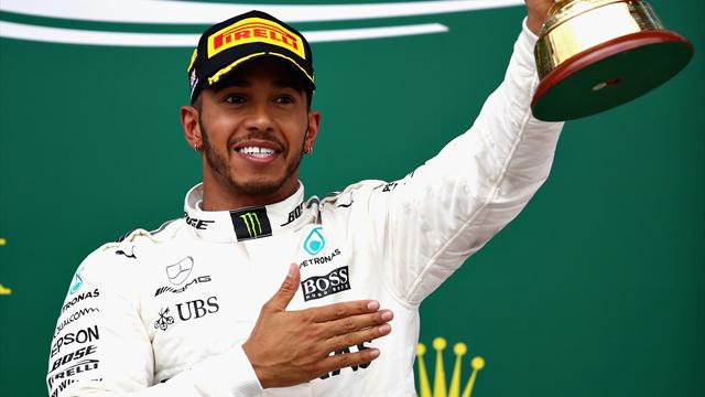 Hamilton claims fourth straight British Grand Prix victory to shred Vettel lead