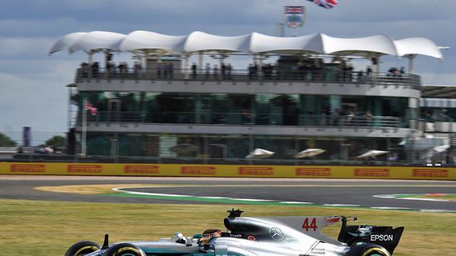 Formel 1: Hamilton gewinnt in Silverstone - Vettel Siebter