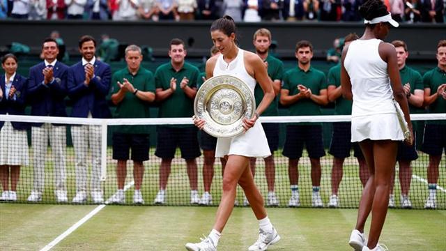 Stanford, primer torneo de Muguruza tras ganar en Wimbledon