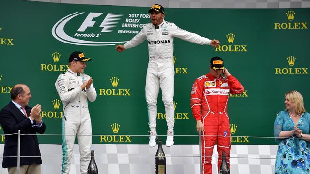 """Hamilton : """"Se rapprocher autant ici, c'est fantastique"""""""
