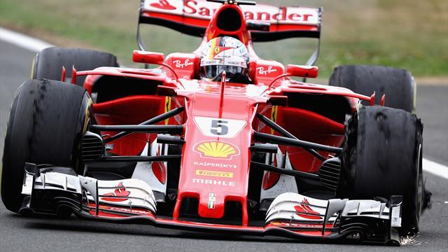 Vettel a presque tout perdu en crevant dans l'avant dernier tour : la vidéo