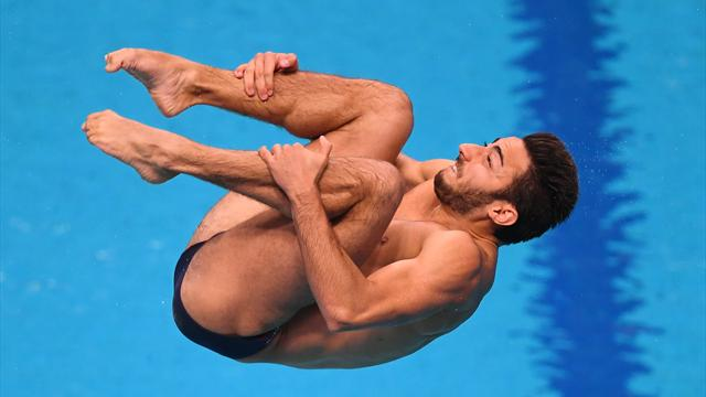 Giovanni Tocci vince il bronzo mondiale nel trampolino 1 metro: tutti i suoi tuffi