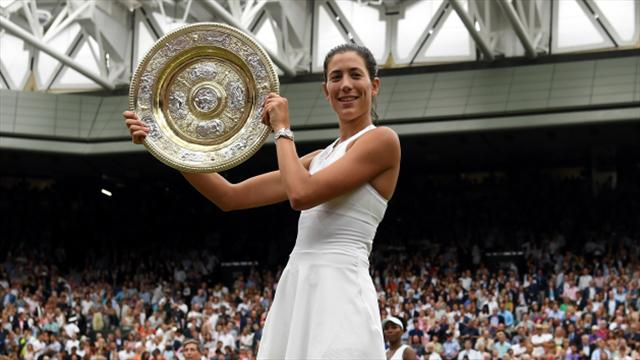 Wimbledon champion Garbine Muguruza insists she does not care about her ranking