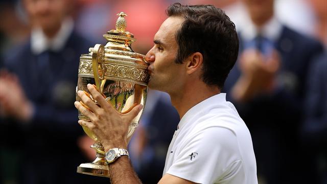 Wimbledon 2017: Un nuevo renglón de oro en la leyenda llamada Federer