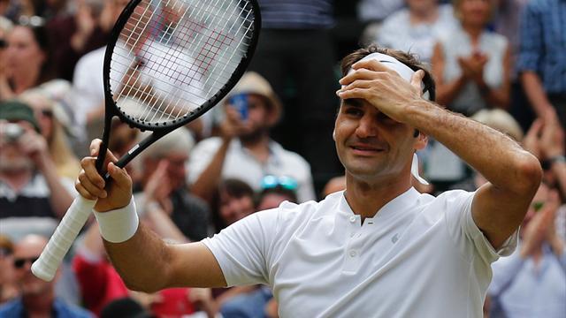 Federer à Wimbledon, des chiffres qui donnent le tournis