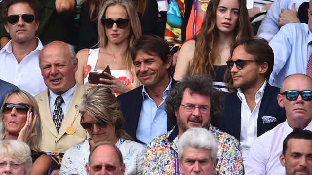 Конте, «Доктор Кто» и еще 11 звезд, которые наблюдали с трибун за победой Федерера на Уимблдоне
